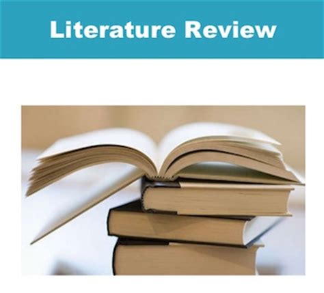 Examples of a literature review in psychology